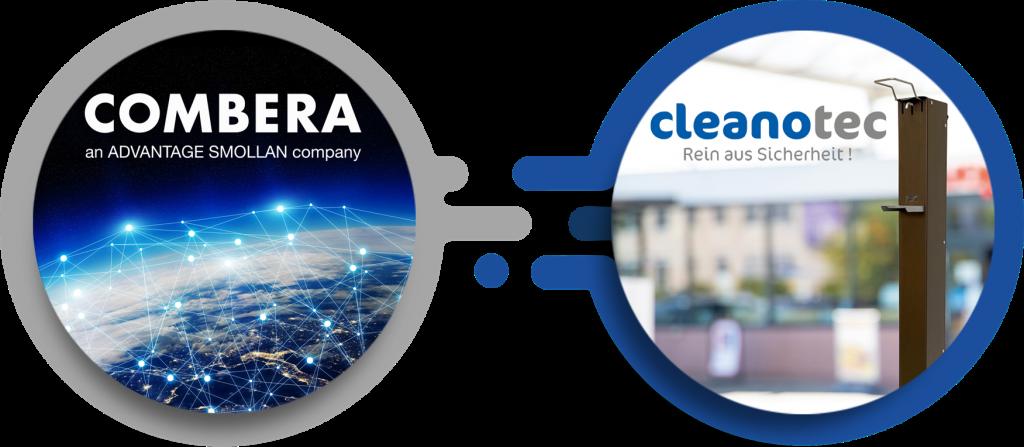 COMBERA und CLEANOTEC - die Hygiene-Allianz