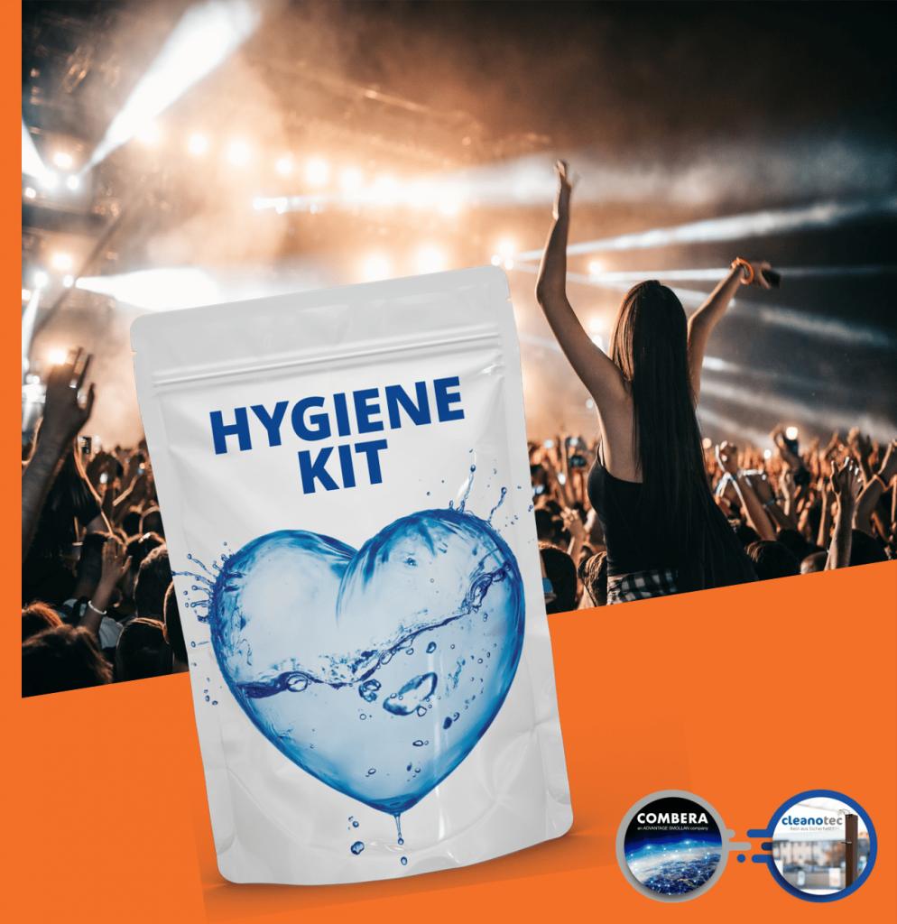 Hygiene-Kit Hygiene-Set für Event Konzert Veranstaltung Musik Messe